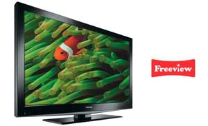 Enjoy your favourite programmes with up to 50 digital TV channels available on Freeview.