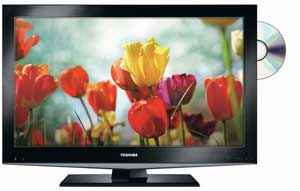 DV502 series is a LCD TV with built-in DVD player