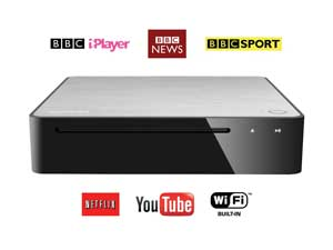 Toshiba BDX5500 smart services, including YouTube, iPlayer and Netflix