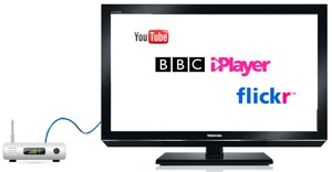 Access YouTube, iPlayer and Flickr