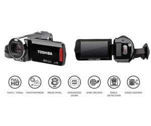 You'll find the Toshiba Camileo X200 is full of features to help you get the most out of your videos
