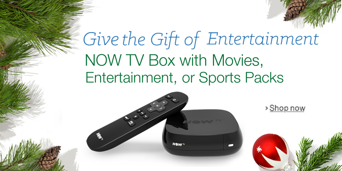 Give the Give of Entertainment--NOW TV