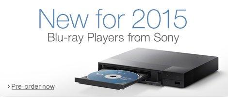 Sony Blu-ray in 2015