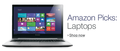 Amazon Picks: Laptops