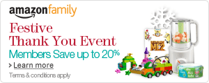 Amazon Family Festive Thank You Event