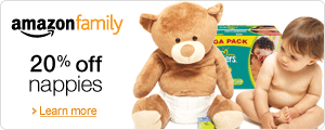 Amazon Family: 20% off Nappies