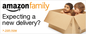 Expecting a new delivery? Join Amazon Family