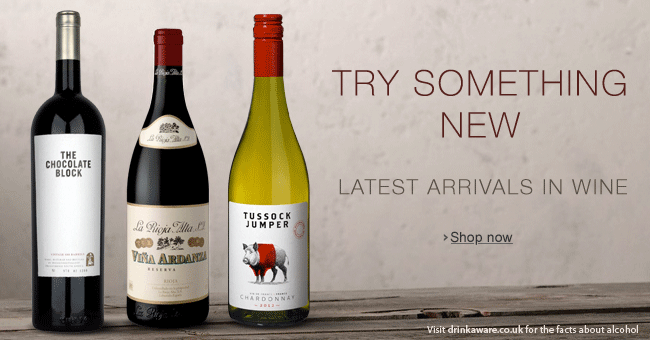 Wine New Arrivals