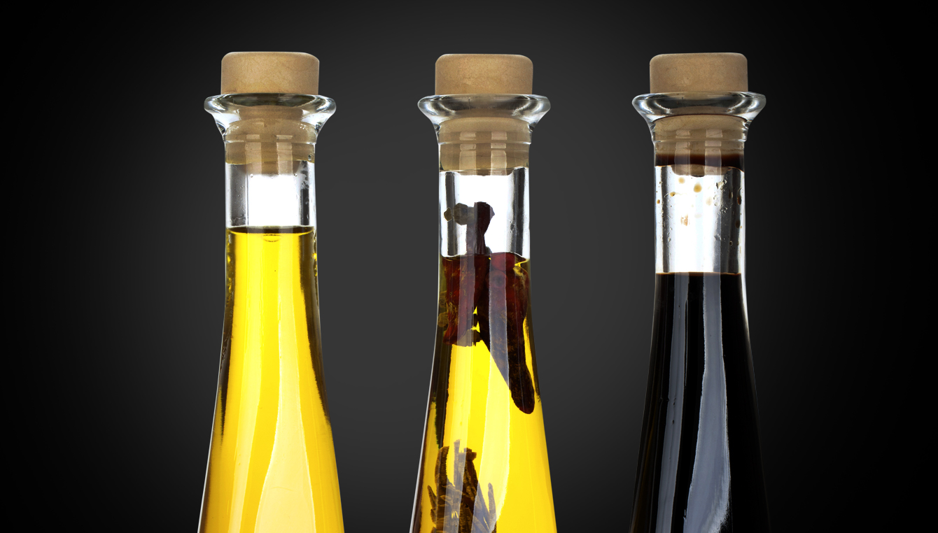 Oils, Vinegars and Dressings