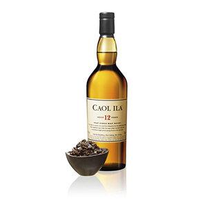 Caol Ila 12 Year Old Whisky Bottle Visual