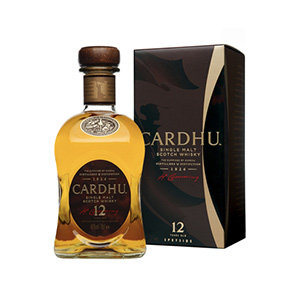 Cardhu 12 Year Old Whisky Bottle and Pack Visual