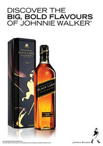 Johnnie Walker Black Label with Gift Tin