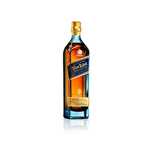 Johnnie Walker Blue Label bottle visual