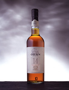 Oban 14 Year Old Whisky Bottle Visual