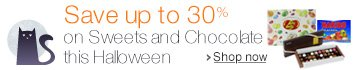 Save up to 30% on Halloween Sweets