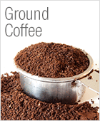 is ground coffee the same as instant coffee