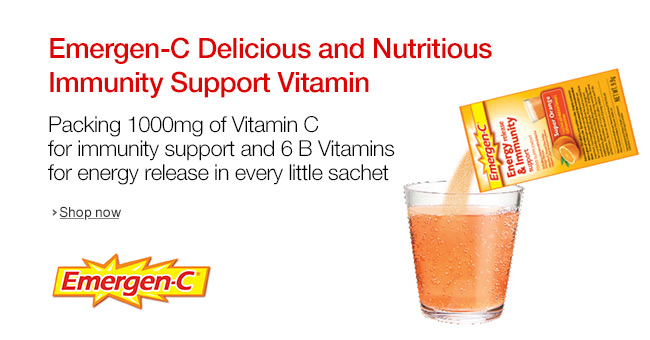 EmergenC Delicious and Nutritious Immunity Support Vitamins