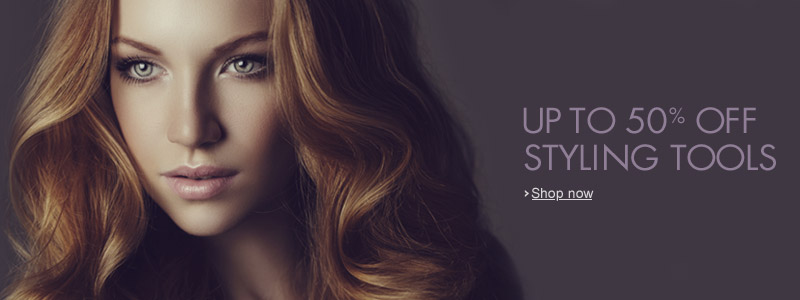 50% Off Styling Tools
