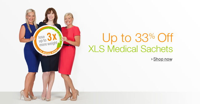 Up to 33% Off XLS Medical Sachets