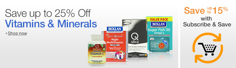 Vitamins July Promotions