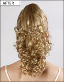 Love Hair Extensions Clip-In Curly Style Synthetic Ponytails at Amazon.co.uk