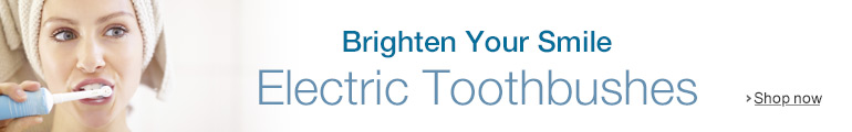 Electric toothbrushes for a brighter smile