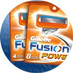 Gillette Fusion Power available from Amazon.co.uk