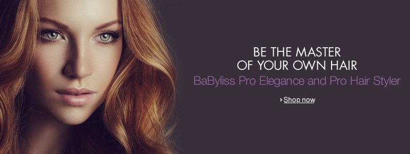 Be the Master of Your Own Hair--BaByliss Pro Elegance and Pro Hair Styler