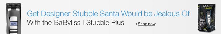 Get Designer Stubble Santa Would be Jealous Of--With the BaByliss I-Stubble Plus