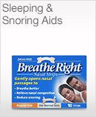 Sleeping & Snoring Aids