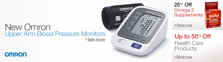 New Omron Blood Pressure Monitors