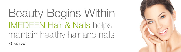 Beauty Begins Within--Imedeen Hair and Nails