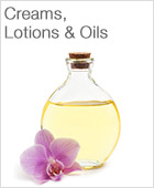 Creams, Lotions and Oils