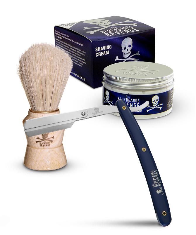 The Bluebeards Revenge Shavette Razor Shaving Kit