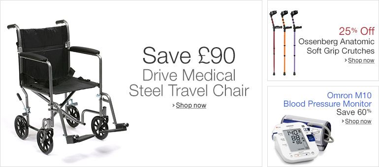 Save £90 on Drive Medical Wheelchair