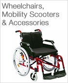 Wheelchairs, Mobility Scooters and Accessories