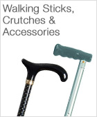 Walking Sticks, Crutches and Accessories