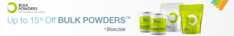 Up to 15% Off Bulk Powders