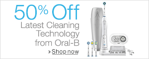 Up to 50% Off Oral-B Electric Toothbrushes