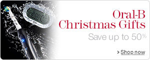 Oral-B Christmas Gifts--Save up to 50%