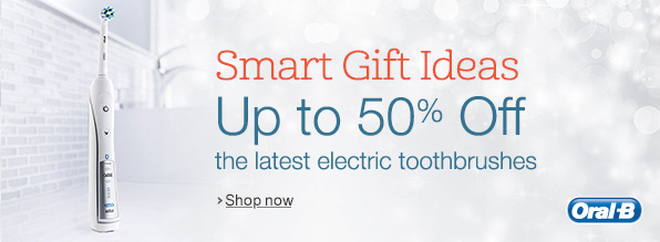 50% off the latest electric toothbrushes from Oral-B