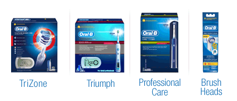 Explore Braun Oral-B Toothbrushes and Brush Heads