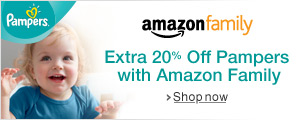 Extra 20% Off Nappies with Amazon Family