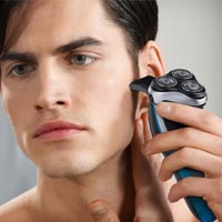 Philips AquaTouch has been created for men who want the closeness of a wet shave but without the skin damage