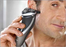 Look your very best with Philips PowerTouch PT870 Electric Shaver