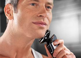 Philips SensoTouch has been created for men who want the closeness of a wet shave but without the skin damage