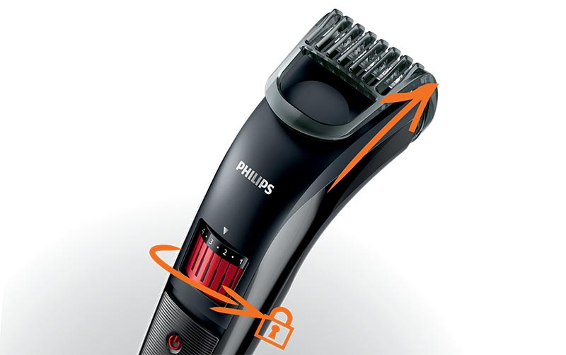 new philips qt4005 series 3000 rechargeable portable beard. Black Bedroom Furniture Sets. Home Design Ideas