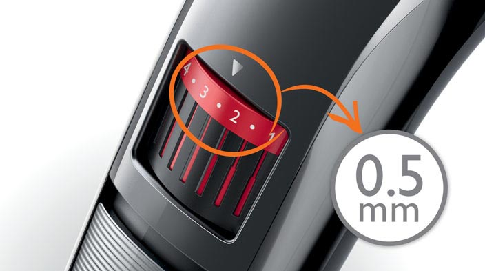 philips qt4013 mens rechargeable beard stubble trimmer 20 lengths from. Black Bedroom Furniture Sets. Home Design Ideas