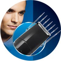 9 position hair clipper comb attachment