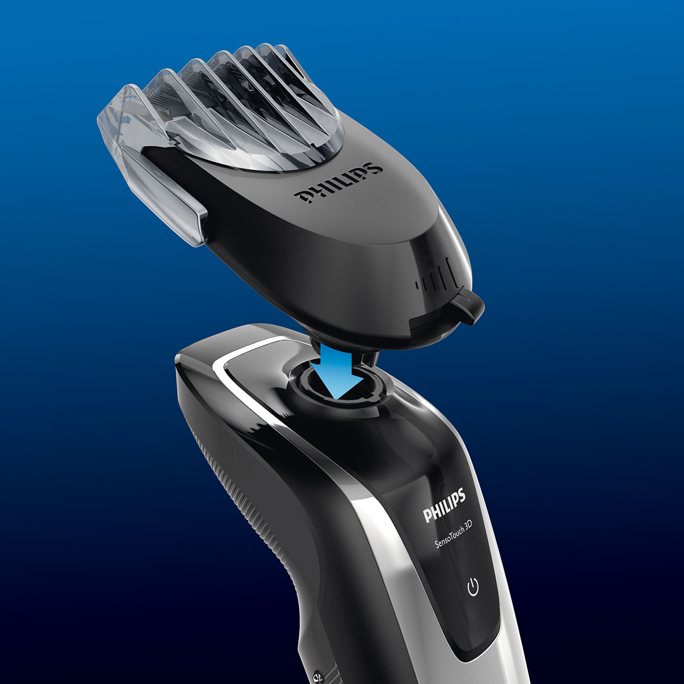 philips sensotouch rq111 50 click on beard styler attachment health personal care. Black Bedroom Furniture Sets. Home Design Ideas